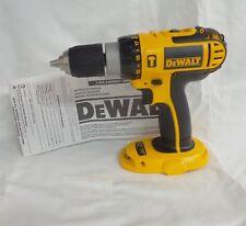 "NEW DeWALT DC725  18V 1/2"" Cordless Hammer Drill Driver w/ LED Light DC725B"