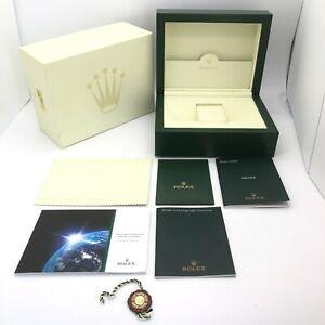 Rolex Genuine Daytona 116509 watch box case 30.00.02 Large Booklet Tag B0912018
