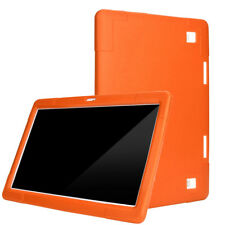 Universal Tablet Hülle Für 10/10.1 Zoll Android Tablet PC Silikon Tasche Orange
