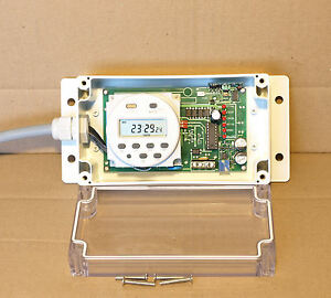 Timer controlled automatic generator start module with optional extra functions