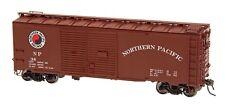 HO 1937 AAR Double Door Boxcar - Northern Pacific #38101 - Red Caboose #38529-13