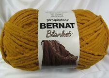 Bernat Blanket Yarn 10.5 oz Burnt Mustard