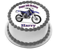 MOTORBIKE CAKE TOPPER PARTY IMAGE FROSTING SHEET
