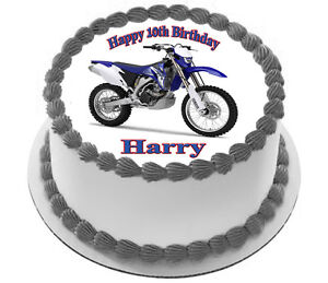 MOTORBIKE Edible  CAKE TOPPER PARTY IMAGE FROSTING SHEET