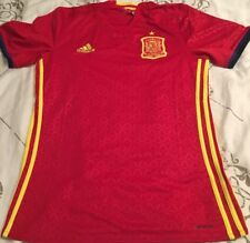Spain España Mens National Team Soccer Football Adidas S Small Jersey NWT Trikot