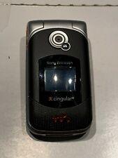 Sony Ericsson Walkman W300i - Black (Cingular / At&T) Cellular Flip Phone