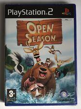 PS2 Open Season (2006), UK Pal, Brand New & Sony Factory Sealed