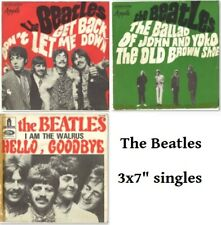 "The Beatles Get back, Hello goodbye, The ballad, (3x7"" Singles)"