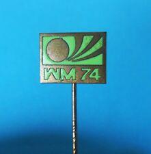 FIFA FOOTBALL SOCCER WORLD CUP GERMANY 1974. - old enamel pin badge anstecknadel