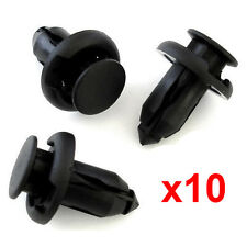 10 Pcs  Bumper Clip Panel Fastener Trim Clips For Subaru & Lexus Push-fit New
