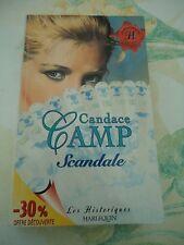 CANDACE CAMP - SCANDALE - HARLEQUIN HISTORIQUE N° 72
