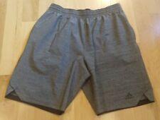 Adidas Climalite Men's Gray Athletic Shorts Size L