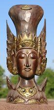 Edle Rama Stand Maske Feng Shui Afrika Gold Sita Buddha Maske53