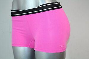 Victorias Secret PINK Women's Logo Yoga Shorts Color Pink Sz XSmall NWT