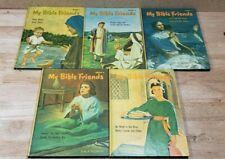 My Bible Friends 1963 Books, Etta B. Degering, 1-5 Not Complete