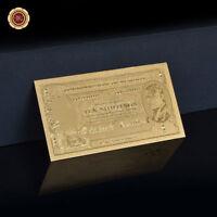 WR Rare Australia 1/2 Pound Gold Banknote Sheehan/mcfarlane 24K 70 Birthday Gift
