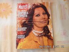 Paris Match N° 1461 27/5/1977 Sophia Loren Michele Morgan Mohamed Ali I108