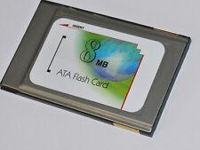 PCMCIA ATA Flash Memory Card - 8MB - 68 Pin - PC Card