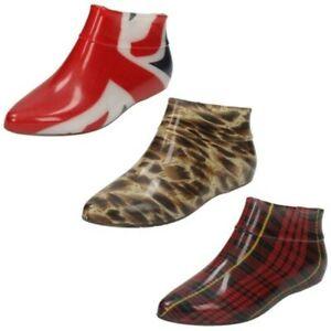 Ladies Spot On Pixie Style Ankle Wellington