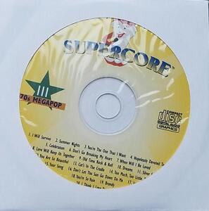 1970'S MEGAPOP KARAOKE CDG POP #111 JOE COCKER,FLEETWOOD MAC,BOB SEGER CD+G