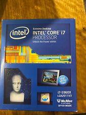 Intel Core i7-5960X - 8-cores 16-threads - 2011-V3 socket - X99 platform