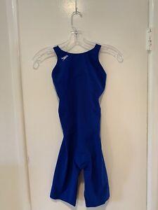 Speedo LZR Pro Women's Tech Suit Size 26 Black Size 26 Blue Brand New!
