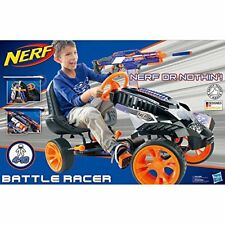 Hauck Nerf Battle Racer Kids Go Kart Ride On Pedal Car Gokart Child Bucket Seat