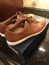 Cole Haan Grand Crosscourt II Color Tan Leather Burnsh US Size 10.5