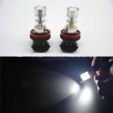 2x H11/H8 42 SMD LED White Samsung 2835 Canbus Error Free Fog Light Bulb