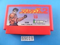 Spartan X2 NES nintendo Famicom FC Video Games USED From Japan 69019