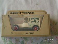 MATCHBOX MODELS OF YESTERYEAR Y-5 #1