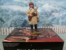 King & Country  WWII Russian Ost-front Red Army Winter Tanker with PPSH  RA29