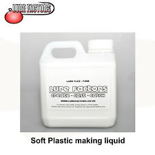 1Ltr FIRM GRADE LIQUID SOFT PLASTIC PLASTISOL FOR MAKING  SOFT BAIT  LURES