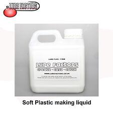 1Ltr FIRM GRADE LIQUID SOFT PLASTIC PLASTISOL FOR MAKING  SOFT BAIT  LURES