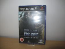 Ps2 Sony PlayStation 2 Game Peter Jackson's King Kong UK Boxed