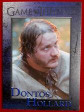 GAME OF THRONES - Season 4 - Card #85 - DONTOS HOLLARD - Rittenhouse 2015