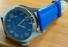 Glycine Incursore Diamond Hand Wound Watch 3762.18ld Blue NEW
