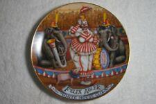 FELIX ADLER Ringling Bros. and Barnum & Bailey Circus Collector Plate 1983