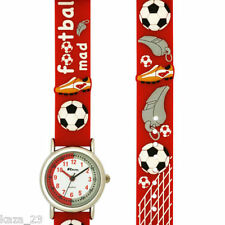 Childrens Ravel Funtime Football Mad Watch Youth Soccer Boys  Red /White