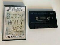 Buddy Holly & The Crickets.........Buddy Holly Lives.....cassette.