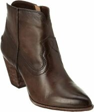 Size 5.5 Frye Renee Distressed Leather Ankle Boot