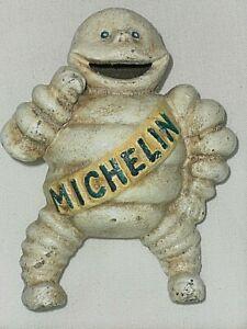Vintage Cast Iron Michelin Man