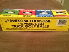 Trick Golf Ball Gift Pack Perfect Fo Any Golfer Great Laugh Exploder Phantom Etc