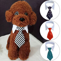 Pets Dogs Puppy Cats Cute Bow Tie Adjustable Collar Necktie Neck Tie for Party