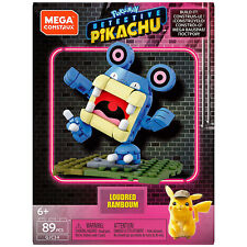 Mega Construx Pokemon Detective Pikachu Loudred Building Set NEW Toys In Stock