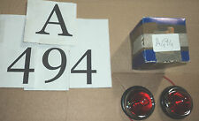 A494 - FANALINI COPPIA ROSSO POSIZIONE UNIVERSALI FIAT LANCIA ALFA VW MAGGIOLINO