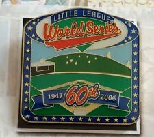 Little League World Series 60th Anniversary Collectible Pin
