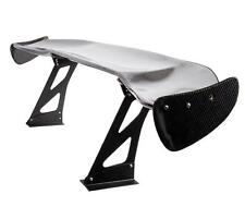 """NRG REAL CARBON FIBER GT STYLE 69"""" RACING REAR BACK SPOILER / WING+BRACKETS"""