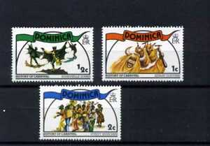 DOMINICA.>>HISTORY OF CARNIVAL  1978  >>>3  MNH