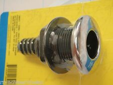 """THRU HULL FITTING SEACHOICE 18441 3/4"""" HOSE STAINLESS COVERED BOATINGMALL BOAT"""